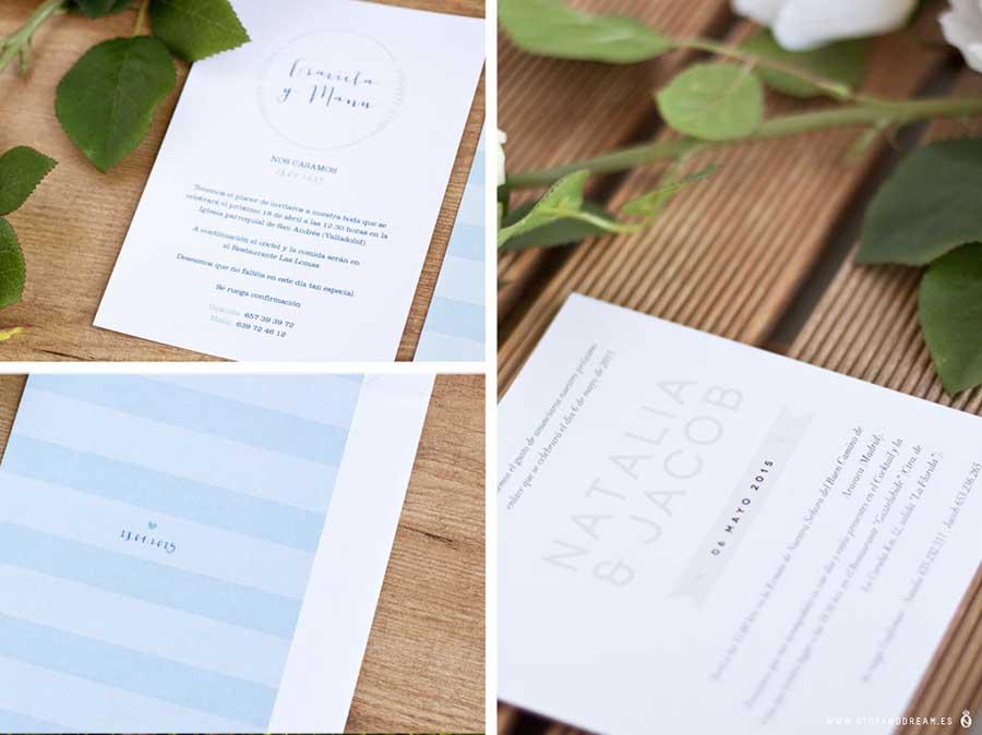 Ideas invitaciones boda detalles originales valladolid