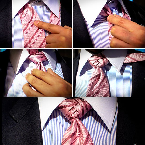 Nudos de corbata para bodas y novios (4)