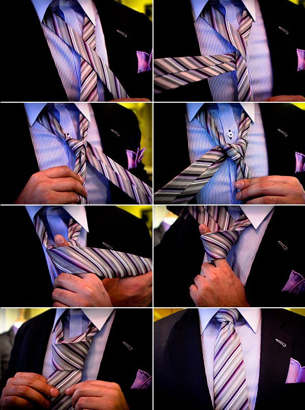 Nudos de corbata para bodas y novios (5)