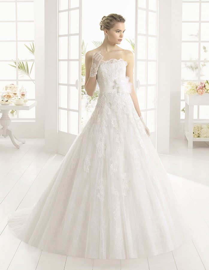 elegante vestido de moda de españa 2019