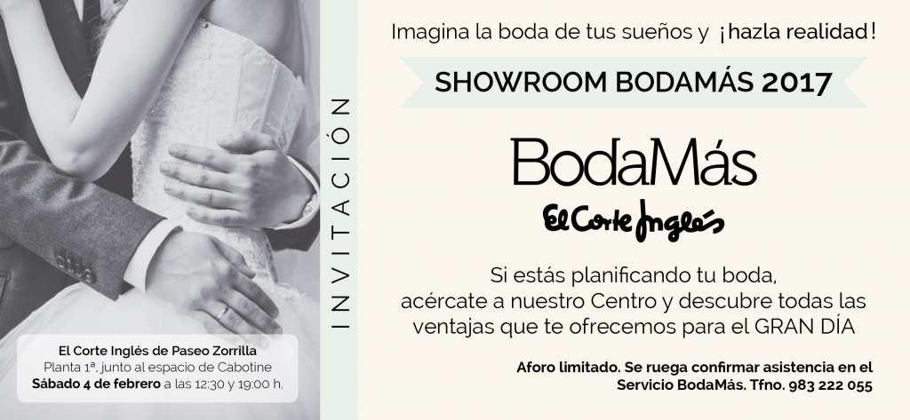 showroom bodamas 2017 invitacion