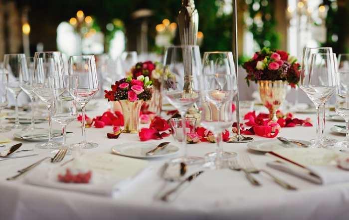 tipos de banquetes de boda