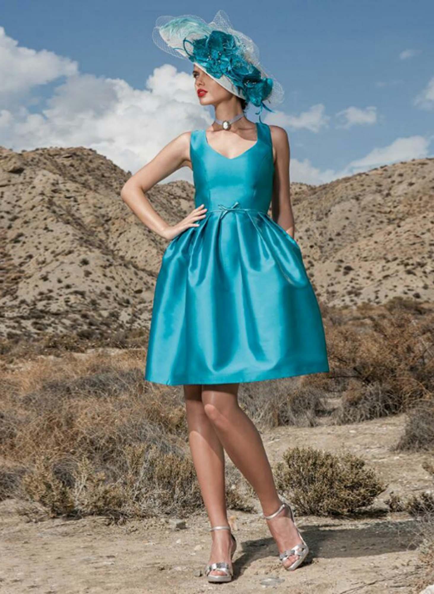 vestidos trajes madrina corto o largo (4)