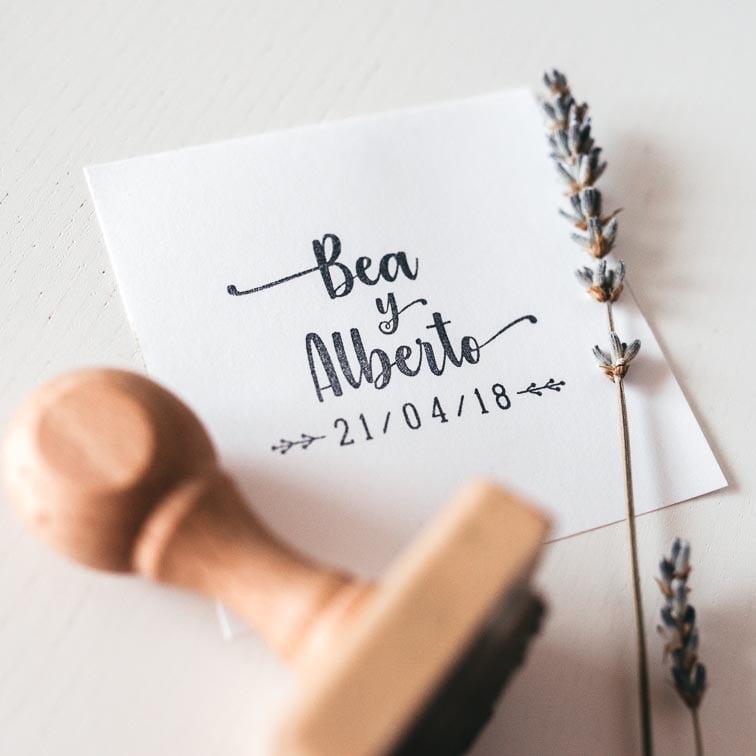 invitaciones de madera para bodas