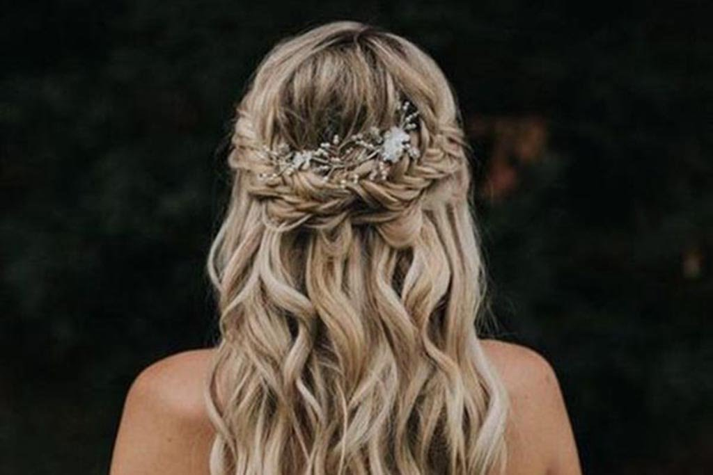 Miradas ganadoras con peinados para feria 2021 Imagen de tutoriales de color de pelo - El Peinado Estrella para el Día de tu Boda | Feria DeBoda ...