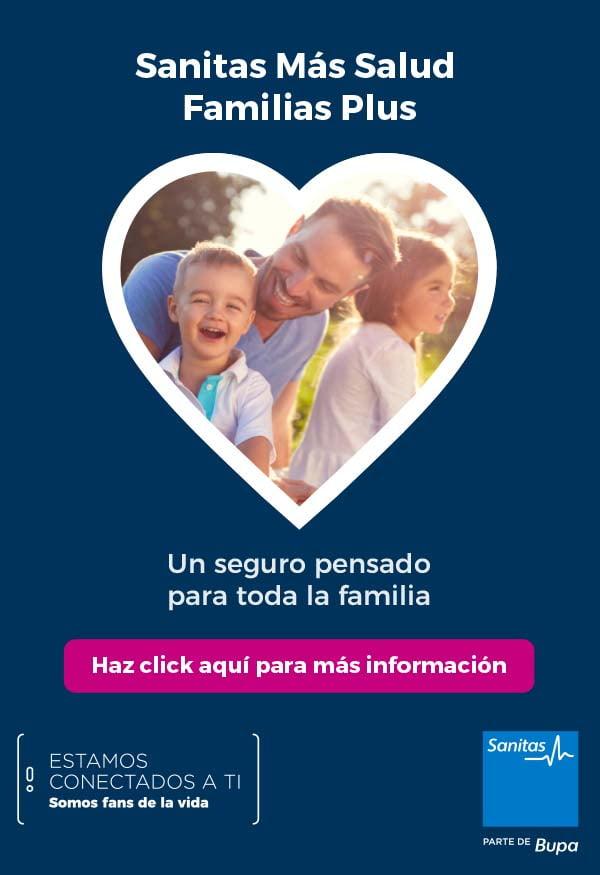 Sanitas Mas Salud Familias Plus DeBoda Valladolid