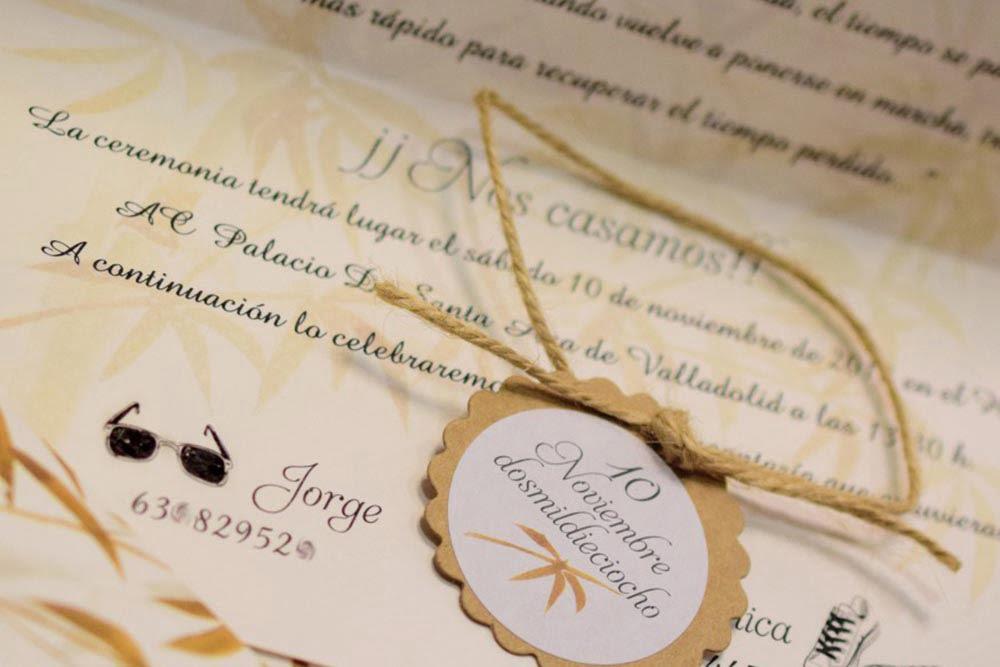 invitación boda perfecta