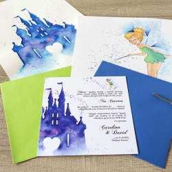 Invitaciones-de-Boda-_-Fantasia-_-Castillo-Disney-_-Lápiz-Creativo-1