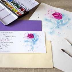 Invitaciones-de-Boda-_-Fantasia-_-Rosa-_-Lápiz-Creativo
