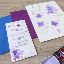 Invitaciones-de-Boda-_-Natura-_-Flores-_-Violetas_-por-Lápiz-Creativo